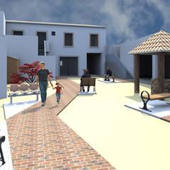 Centros de exhibición de estilo  por 2FCS - Arquitectura e Decoração