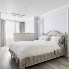 목동 하이페리온 183㎡ 56PY: wid design 위드디자인의  침실,클래식