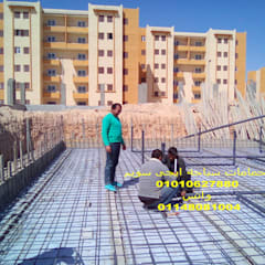 حمام سباحة اوفرفلو بمدينة اسيوط الجديدة:  حديقة تنفيذ حمامات سباحة ايجي سويم, تبسيطي أسمنت