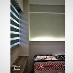 岩顏日和的58。角屋-:  嬰兒房/兒童房 by 喬克諾空間設計