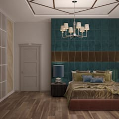 mediterranean Bedroom by Студия интерьерного дизайна happy.design