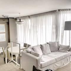 living: Livings de estilo  por FAARQ - Facundo Arana Arquitecto & asoc.