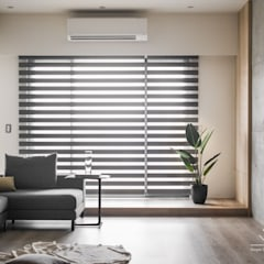 Living room by 極簡室內設計 Simple Design Studio