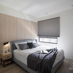 Bedroom by 極簡室內設計 Simple Design Studio,