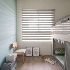 Nursery/kid's room by 極簡室內設計 Simple Design Studio,