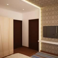 Prestige fern residence:  Media room by NVT Quality Build solution