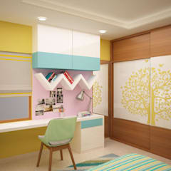 Prestige fern residence:  Nursery/kid's room by NVT Quality Build solution