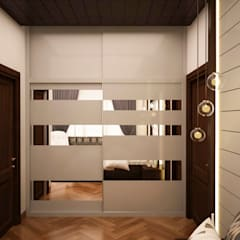 Vestidores y closets de estilo  por NVT Quality Build solution