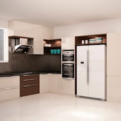Full height storage's  :  Kitchen by NVT Quality Build solution