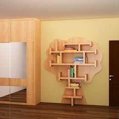 Kids book shelf :  Nursery/kid's room by NVT Quality Build solution