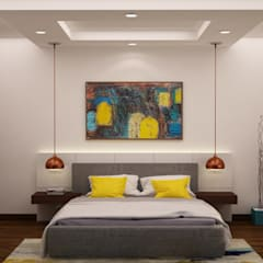 Adarsh Palm retreat:  Bedroom by NVT Quality Build solution