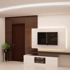 Entry area :  Living room by NVT Quality Build solution