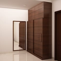 Dressing room by homify, Rustic
