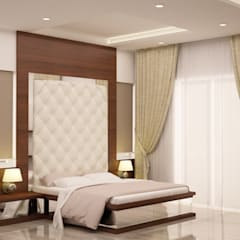Master Bedroom:  Bedroom by NVT Quality Build solution