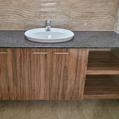 Under sink counter :  Bathroom by NVT Quality Build solution