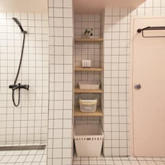 참우리건축: asyatik tarz tarz Banyo