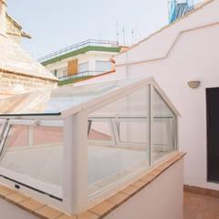 MALBArquitectos:  tarz Çatı teras