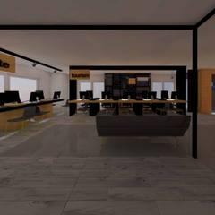LEYLA ERCAN MİMARLIK – TALA TURİZM:  tarz Ofis Alanları