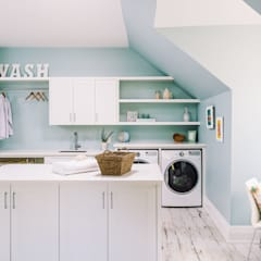 Laundry Room:  Corridor & hallway by Frahm Interiors