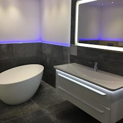 LED-Technik im Badezimmer: klassische Badezimmer von  Elmar Franke Fliesenlegermeisterbetrieb e.K.
