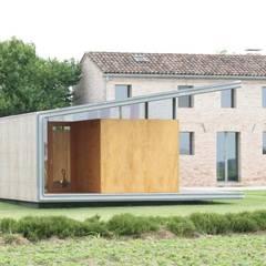 Oleh Massimo Berto Architetto Minimalis Kayu Wood effect