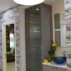 3BHK Aparna Sarovar Grande C Block 2050 sqft Turn Key project:  Dining room by Enrich Interiors & Decors,Modern