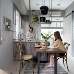 Comedores de estilo  por 寓子設計,