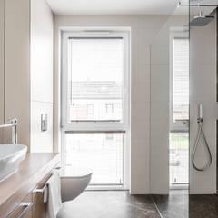 APARTAMENT - GDYNIA KOSAKOWO: styl , w kategorii Łazienka zaprojektowany przez Anna Serafin Architektura Wnętrz