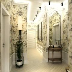 Pasillos y vestíbulos de estilo  por GraniStudio, Tropical