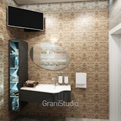 Оникс: Ванные комнаты в . Автор – GraniStudio