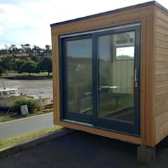 School Box:  Prefabricated home by Building With Frames