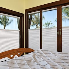 top down bottom up honeycomb:  Shutters by www.liyublinds.com