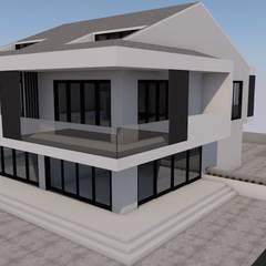 LEYLA ERCAN MİMARLIK – AKÇAY APARTMANI: minimal tarz tarz Evler