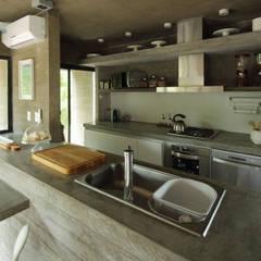 Casa S & S: Cocinas de estilo minimalista por Besonías Almeida arquitectos