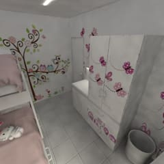 Girls Bedroom by Aida Tropeano & Asoc.
