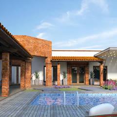 Country house by Acrópolis Arquitectura