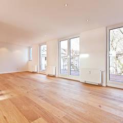 Essbereich: minimalistische Esszimmer von blunk + partner architekten
