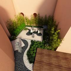 حديقة Zen تنفيذ David Araiza Pérez DAP Diseño,  Arquitectura  y Paisaje