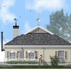 Загородный дом в Подмосковье: Загородные дома в . Автор – архитектурная мастерская МАРТ