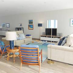 ห้องนั่งเล่น by maria inês home style