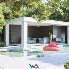 Portfólio Projetos em 3D : Casas do campo e fazendas  por WA Projetos 3D