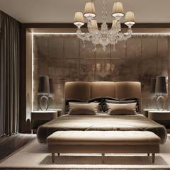 Appartement Privé: Chambre de style de style Classique par Studio Elodie Goddard
