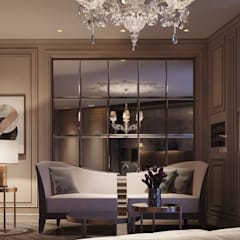 Appartement Privé: Salon de style de style Classique par Studio Elodie Goddard