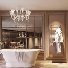 Appartement Privé: Salle de bains de style  par Studio Elodie Goddard