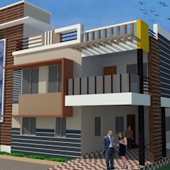 Bungalow von Padhi Housing & Industrial Consultants