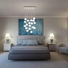 Bedroom: minimalistic Bedroom by 'Design studio S-8'