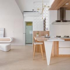 小圓滿:  廚房 by 磨設計