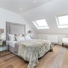 House renovation, house extension Stevenage Road SW6:  Floors by House Renovation London Ltd