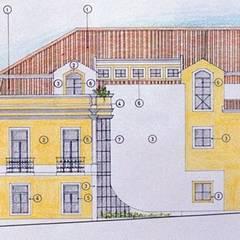 Pedro de Almeida Carvalho, Arquitecto, Ldaが手掛けたログハウス