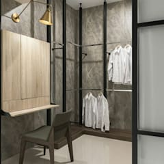 Dressing room by 橡樹設計Oak Design